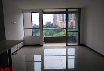 Apartamento en Loma del Escobero, Envigado, tres alcobas, - 80m2