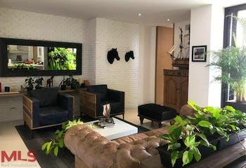 Apartamento en El Poblado-San Lucas, con Balcón - 87.4 mt2.