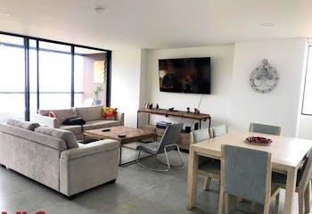 Apartamento en El Esmeraldal, Envigado - 116mt, dos alcobas, balcon