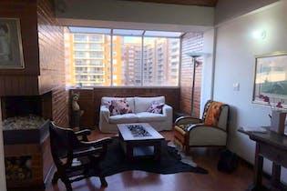 Apartamento Santa Helena, Colina Campestre - 118mt, tres alcobas, chimenea