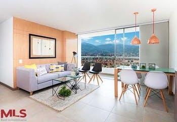 Apartamento en Santa Maria, Itagui -69mt, tres alcobas, balcón