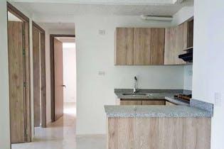 Apartamento en Pajarito, Robledo - 47mt, tres alcobas, balcón
