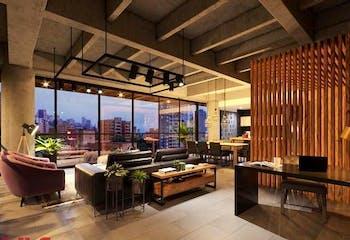 Apartamento en La Tomatera, Poblado - 338mt, loft duplex, tres alcobas