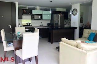 Apartamento en La Cuenca, Envigado - 94mt, dos alcobas, balcón