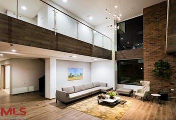 Apartamento en Envigado-Loma del Escobero, con una Habitación - 53 mt2.