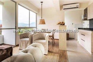Apartamento en Las Lomitas, Sabaneta - 68mt, tres alcobas, balcón