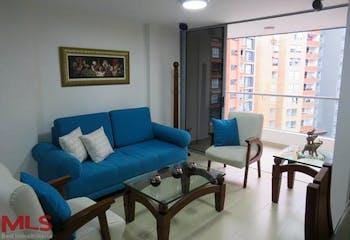 Brujas Campestre, Apartamento en venta en Loma Del Escobero, 92m² con Gimnasio...