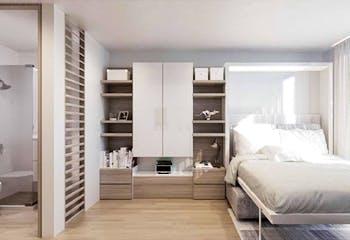 Proyecto nuevo en Adn Castellana, Apartamentos nuevos en La Castellana con 1 habitacion