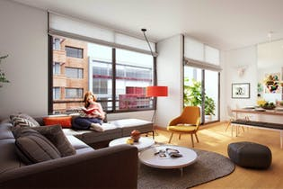 Dc, Apartamentos en venta en El Virrey de 2-3 hab.