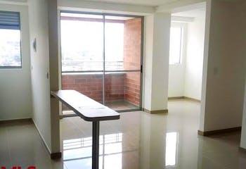 Apartamento en El Rosario, Itagui - 64mt, dos alcobas, balcón