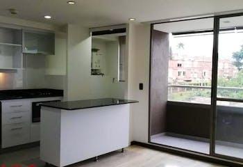 Apartamento en La Abadia, Envigado - 70mt, dos alcobas, balcón