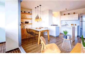 Apartamento en Aves Maria, Sabaneta - Dos alcobas