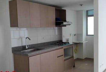 Apartamento en La Tablaza, La Estrella - 54mt, tres alcobas, balcón