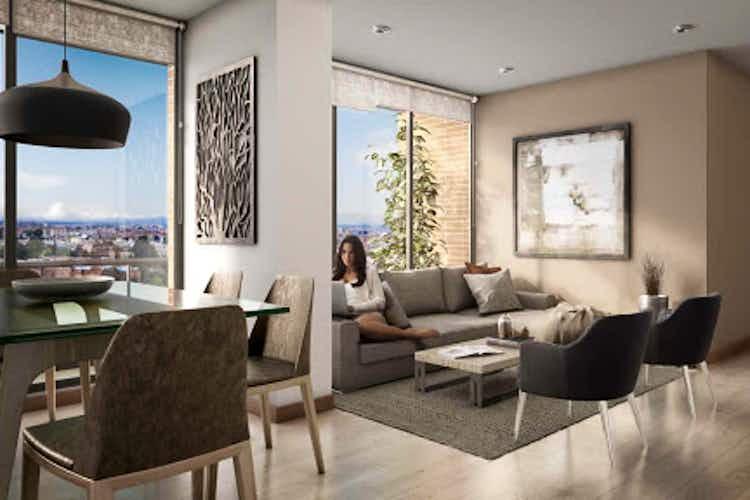 Portada Apartamento en Ciudad salitre-Normandia, con 3 Habitaciones - 81 mt2.