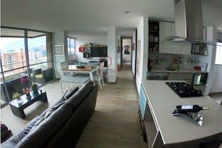 Apartamento en Ciudad del Río, Poblado - 86mt, tres alcobas, balcón
