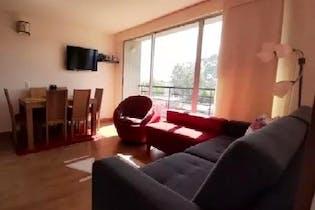Apartamento en Cajica, Cajica - 77mt, tres alcobas, balcón