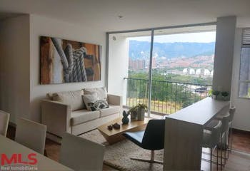 Apartamento en V. La Veta, Copacabana - 78mt, tres alcobas, balcón