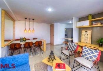 Apartamento en Itagüí-El Rosarío, con 2 Habitaciones - 60.85 mt2.