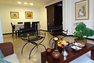 Apartamento en Chico Reservado, Chico - 113mt, dos alcobas, balcón