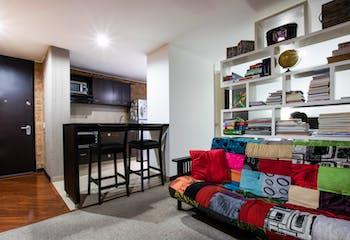 Apartamento en venta en Belalcazar de 32m² con Bbq...