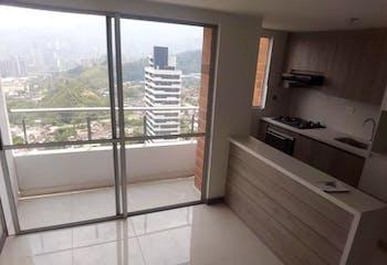 Apartamento en La Aldea, La Estrella - 57mt, dos alcobas, balcón