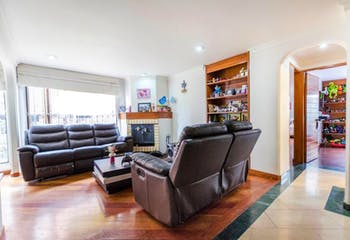 Apartamento rn Santa Barbara Occidnetal, Santa Barbara - 89mt, dos alcobas, chimenea