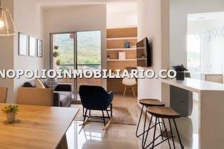 Apartamento en La Navarra, Bello - 89mt, tres alcobas, balcón