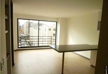 Apartamento en venta en Caobos Salazar de 56m² con Balcón...