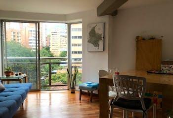 Apartamento en Santa Maria de los Angeles, Poblado - Dos alcobas