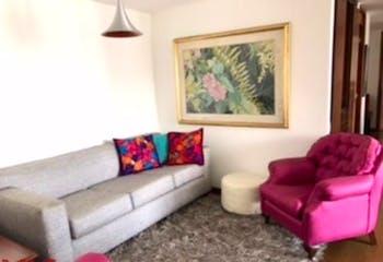 Apartamento en Los Balsos, Poblado - 102mt, dos alcobas, balcón