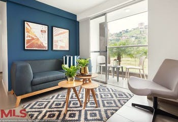 Apartamento en venta en Loma de los Bernal con 3 Habitaciones