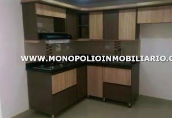 Apartamento en Molinares, Bello - 63mt, dos alcobas, balcón