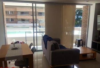 Apartamento en Ciudad del Rio, Poblado - 79mt, dos alcobas, balcón