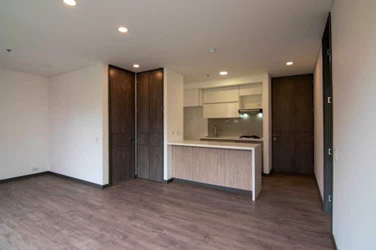 Portada Apartamento en Los Balsos, Poblado - 67mt, una alcoba, balcón