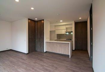 Apartamento en Los Balsos, Poblado - 67mt, una alcoba, balcón