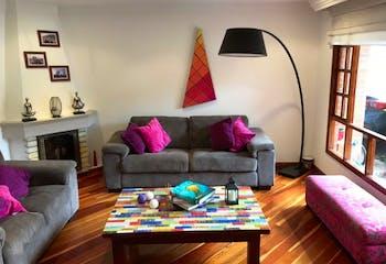 Casa en Rio Frio, Chia - 138mt, tres alcobas, chimenea