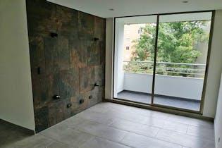 Apartamento en Las Lomas, Poblado - 76mt, tres alcobas, balcón