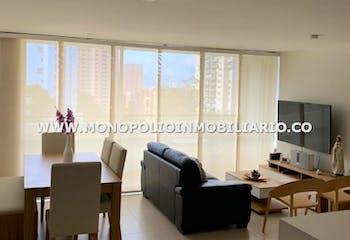 Apartamento en venta en Los Balsos de 1 alcoba