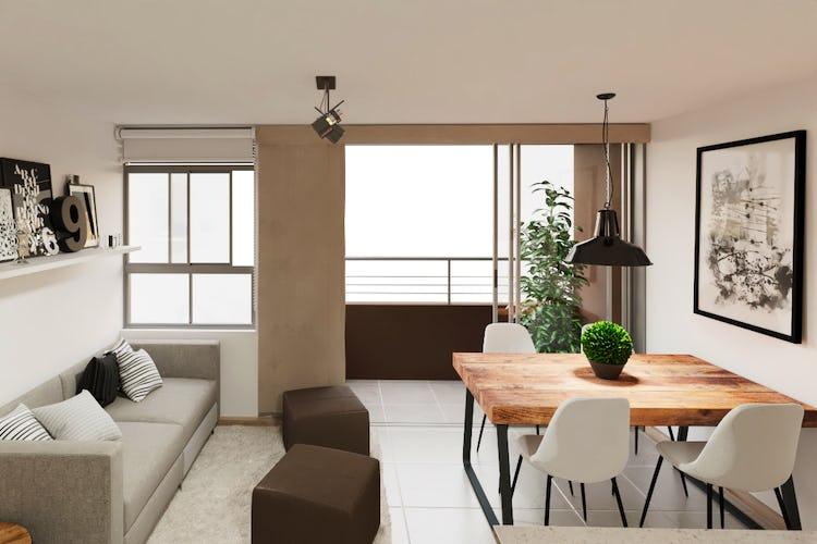 Portada Reserva Serrat - Selva, Apartamentos en venta en Calasanz de 46-57m²