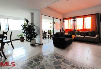 Apartamento en Castropol, Poblado - 310mt, cinco alcobas, balcón