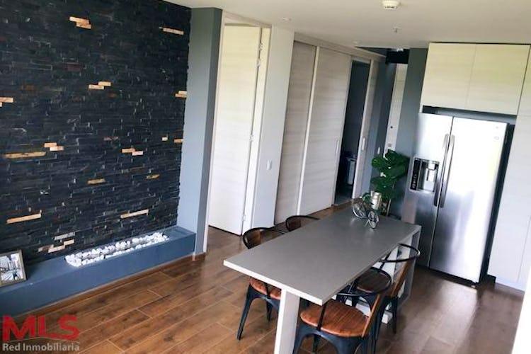Portada Apartamento en Alto de las Palmas, Envigado - 75mt, una alcoba, jacuzzi
