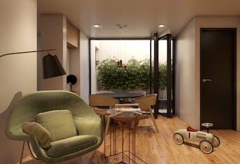 Apartamento en venta en Nápoles de 2 recámaras