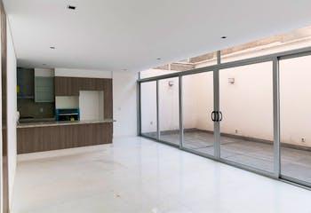 Departamento en venta en Polanco, 203mt de dos niveles.