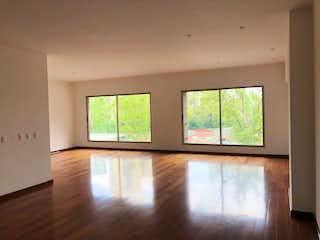Una vista de una sala de estar desde una ventana en Departamento en venta en  Lomas de Santa Fe, Álvaro Obregón  3 recámaras