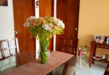 Departamento en venta en Ex-Hacienda Coapa con 3 Recamaras.