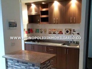 Una cocina con una estufa y un fregadero en ALTOBELO 103