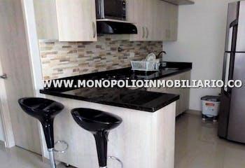 Apartamento en Cbañitas, Bello - 84mt, tres alcobas, balcon
