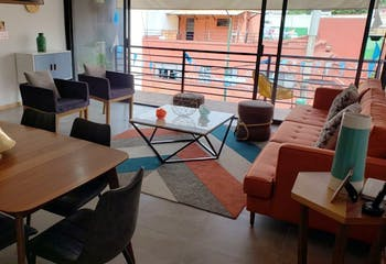 Departamento en venta en Narvarte de 133 mt2. con balcón.
