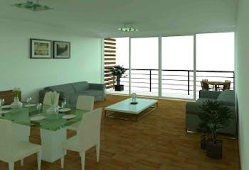 Departamento en venta en Narvarte de 157 mt2. con roof garden,