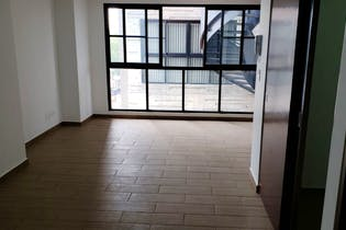 Departamento de 64 m2, 2 recs., 2 baños, 1 cajón, RG común con asador, terraza